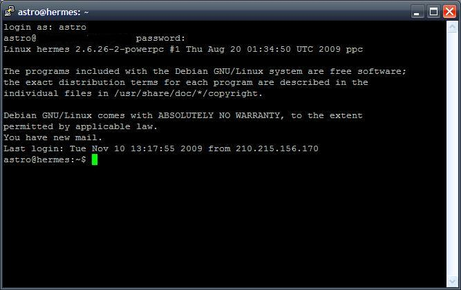 X11 forwarding over SSH   irrationale